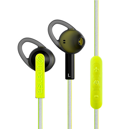 URBANISTA BOSTON Earphones Urban Highlight Volt Green