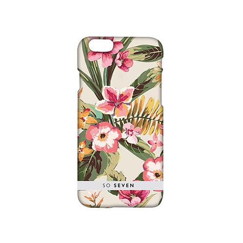 SO SEVEN CASE ROMANTIC FLOWERS PINK IPHONE 7&7 PLUS