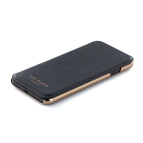 Ted Baker Slim Mirror Case - For iPhone 7 (Black/Rose Gold)