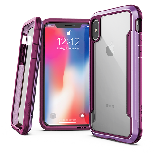 X-Doria Defense Shield iPhone X / Xs / Xs Max / Xr - 紫色