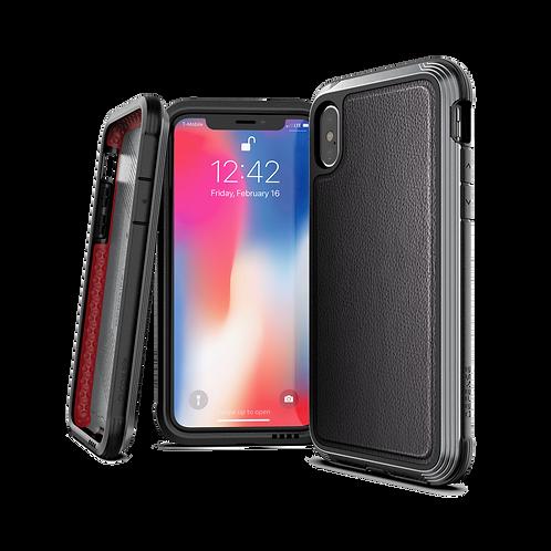 X-Doria Defense Lux iPhone X / Xs / Xs Max / Xr - 黑皮