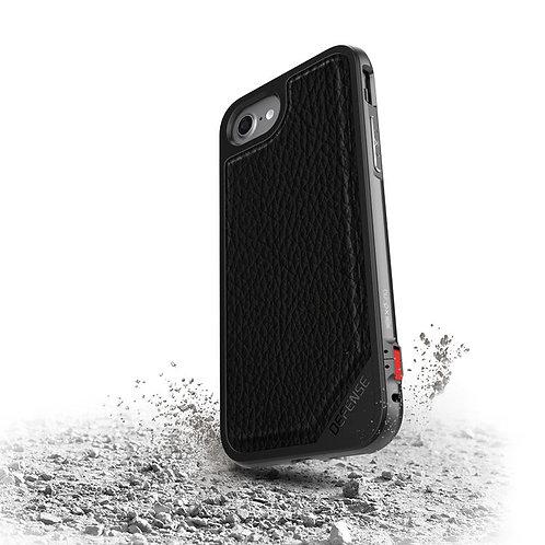 X-Doria Defense Lux 7/8 7Plus/8Plus 黑色皮革電話殼