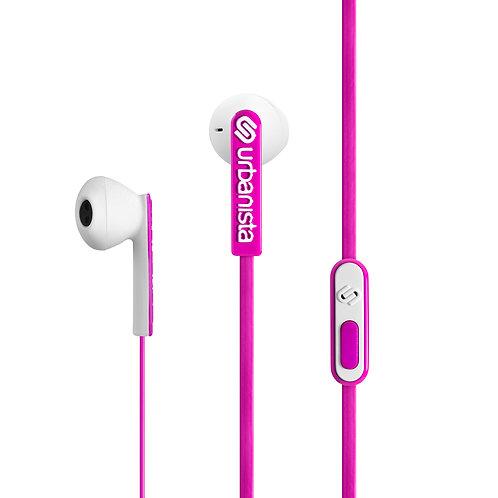 URBANISTA San Francisco Earphones Pink Panther Pink