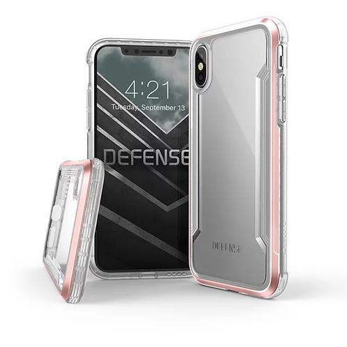 X-Doria Defense Shield iPhone X / Xs / Xs Max / Xr - Clear Rose Gold