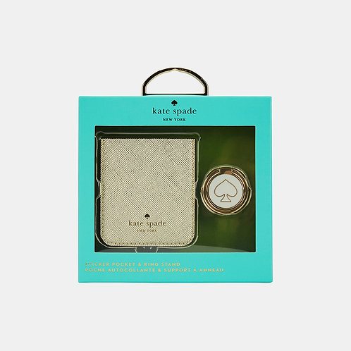 kate spade New York Gift Set: Sticker Pocket & Stability Ring