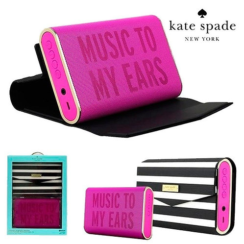kate spade New York Portable Wireless Speaker with Cover