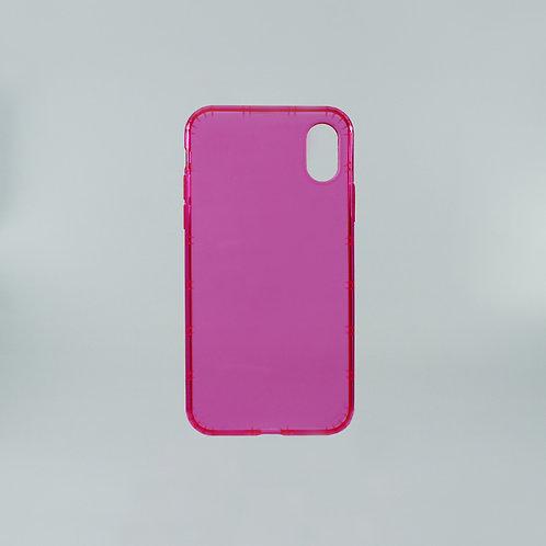 PHILO Airshock Bumper Hard Case PH024 Soft Bumper Iphone X Pink