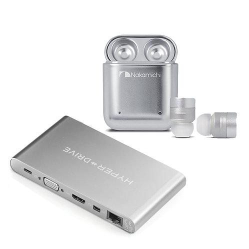 買 HyperDrive Ultimate 11-in-1 USB-C Hub 送 Nakamichi TW1 Plus 真無線耳機