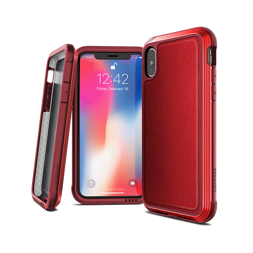 X-Doria Defense Lux iPhone X / Xs / Xs Max / Xr - 紅色