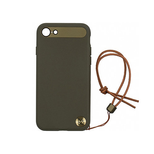 B&O PLAY Case with Lanyard for iPhone 7/8 – Moss Green