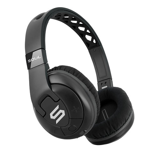 X-TRA Performance Bluetooth Over-Ear Headphones for Sports Black