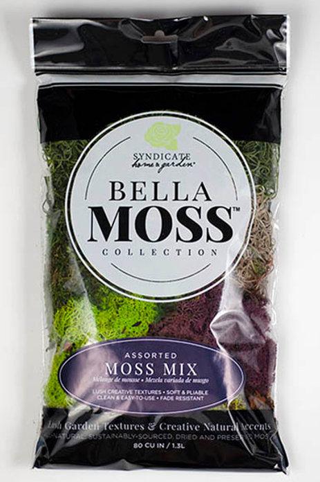 Bella Moss Collection - Moss Mix