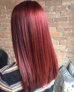 Check out this redhead! #redkenchromatics #chromaticsultrarich #hairbysarahselby #giassalonbrighton