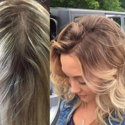 balayage! #rootsmudge #balayage #hairbysarahselby #giassalonbrighton #redken #blurbrush