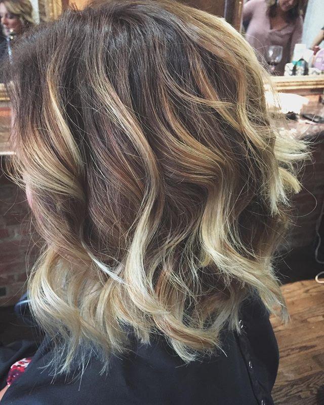 #balayage #balayagebrightonmi #giassalonbrighton #hairbysarahselby