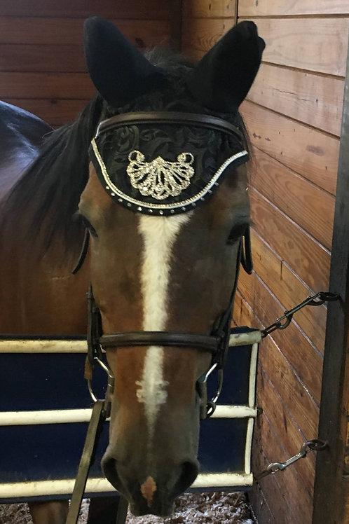 Black Crystal Pony Bonnet