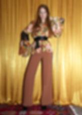 completo blusa pantalone donna