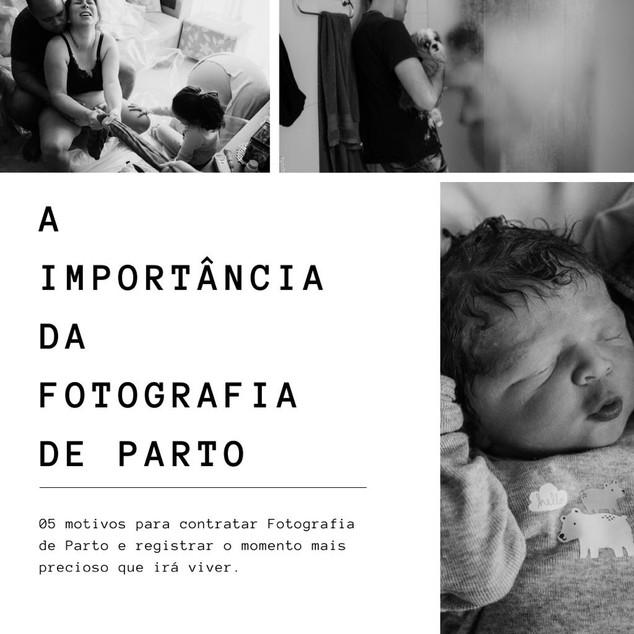 05 MOTIVOS PARA CONTRATAR FOTOGRAFIA DE PARTO