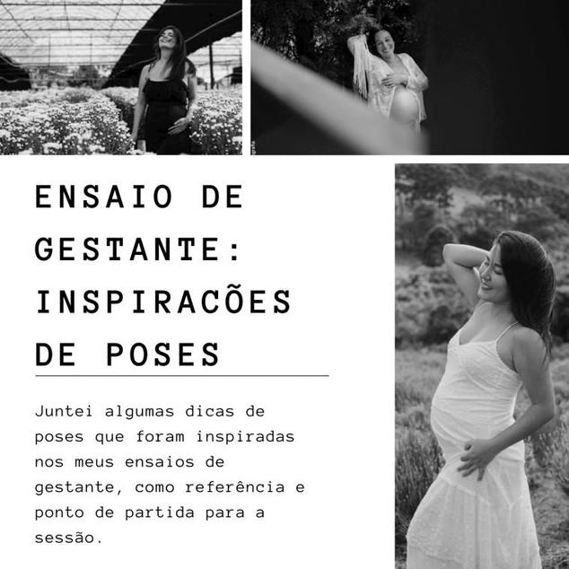 ENSAIO DE GESTANTE: INSPIRAÇÕES DE POSES