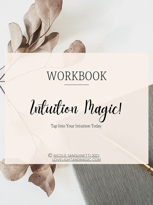Intuition Magic (Free Workbook)