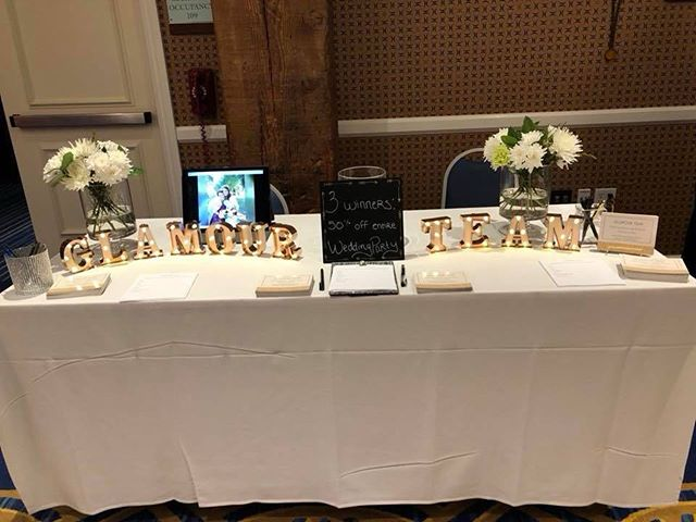 Come and meet us at the bridal shows