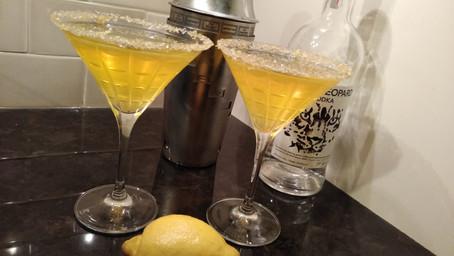 The Grumpy Dingo Radio Lemon Drop Cocktail