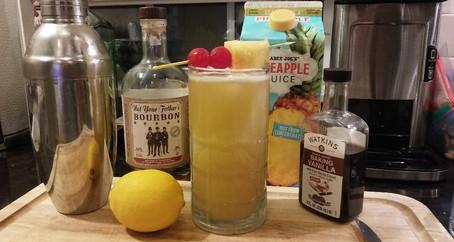 The Grumpy Dingo Radio Whiskey Pineapple Sour