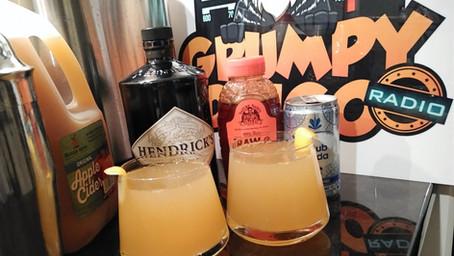 The Grumpy Dingo Radio Apple Cider Gin Cocktail