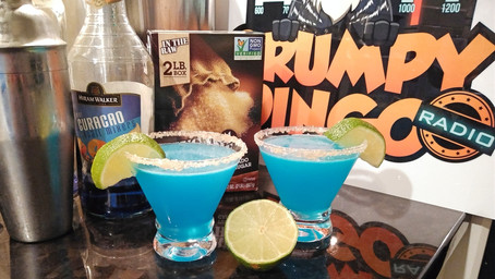 The Grumpy Dingo Radio Blue Margarita