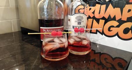 The Grumpy Dingo Radio Cherry Red Russian Cocktail