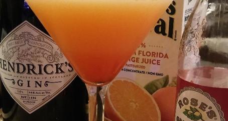 The Grumpy Dingo Radio Gin Sunrise Cocktail