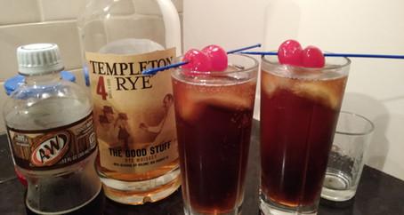 The Grumpy Dingo Radio Whiskey Root Beer Cocktail