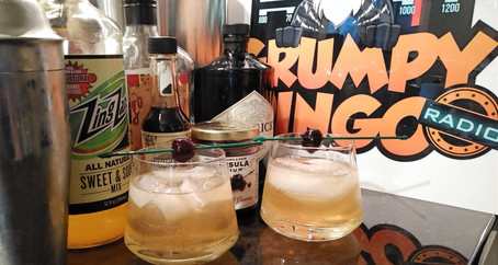 The Grumpy Dingo Radio Almond Gin Cocktail