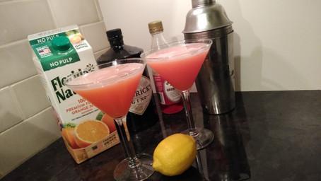 The Grumpy Dingo Radio Gin and Sin Martini