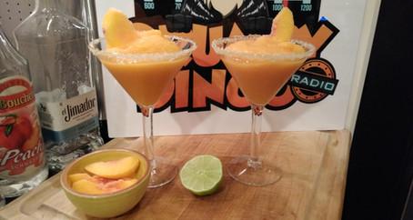 The Grumpy Dingo Radio Frozen Peach Margarita