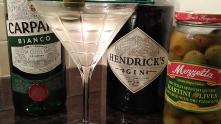 The Grumpy Dingo Radio Wet Gin Martini