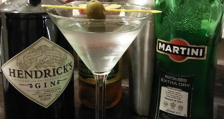 The Grumpy Dingo Radio (Very Dry) Gin Martini