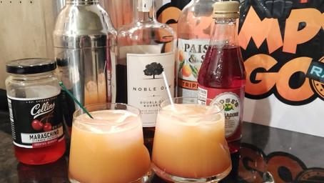 The Grumpy Dingo Radio Bourbon Rose Cocktail