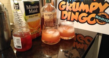 The Grumpy Dingo Radio Rock & Rye Cocktail