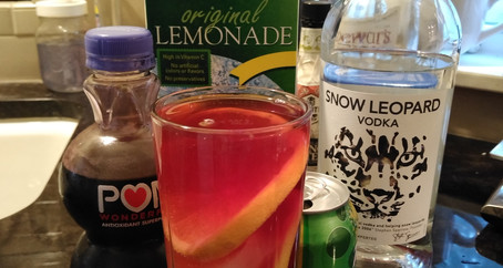 The Grumpy Dingo Radio Vodka Pomegranate Lemonade