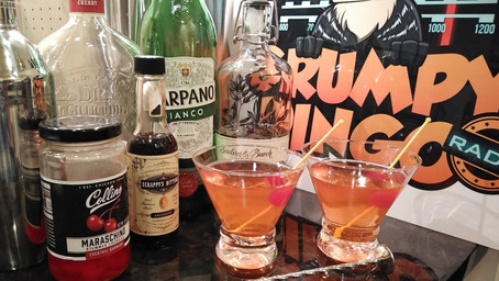 The Grumpy Dingo Radio Boomerang Martini
