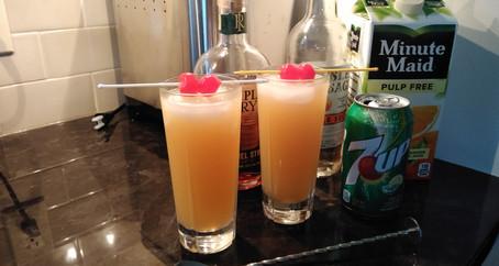 The Grumpy Dingo Radio Whiskey Crush Cocktail