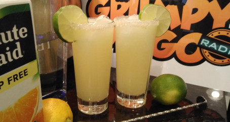 The Grumpy Dingo Radio Cantarito Cocktail