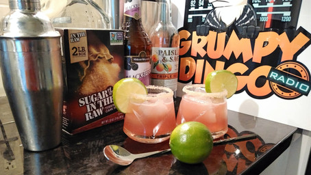 The Grumpy Dingo Radio Blackberry Margarita