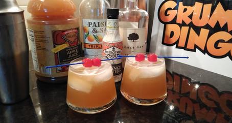 The Grumpy Dingo Radio Bourbon Apple Sour