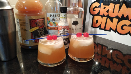 The Grumpy Dingo Radio Bourbon Apple Sour