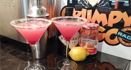 The Grumpy Dingo Radio Gin & Jam Cocktail