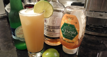 The Grumpy Dingo Radio Honey Ginger Fizz