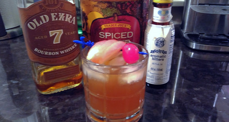 Grumpy Dingo Radio Apple Cider Old Fashioned