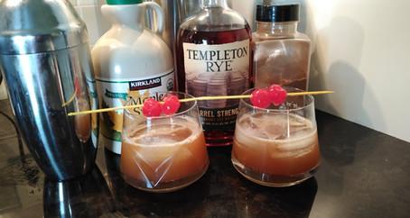 The Grumpy Dingo Radio Cinnamon Maple Whiskey Sour